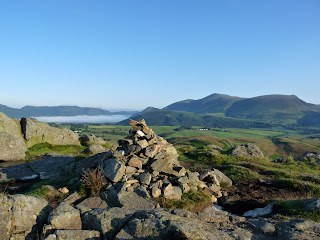 Skiddaw from High Rigg Summit.
