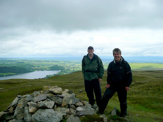 Ian and I at the summit of Arthurs Pike