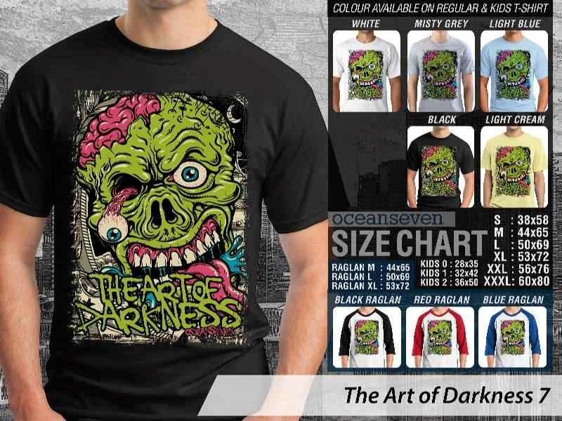 KAOS keren zombie The Art of Darkness 7 distro ocean seven