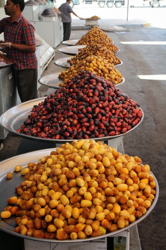 Varieties of Dates on Sale at Abhu Dhabi's Date Market