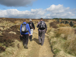 Leaving Pike Low for Derwent Edge