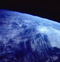 scie chimiche vista spazio