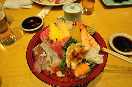 Вкусный японский обед