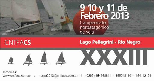 Campeonato Norpatagonico de Vela 2013