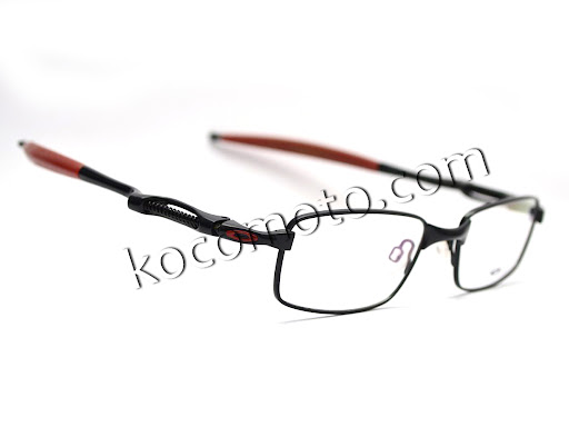 Frame Kacamata Oakley Coil Over Black Red : FO-CO-KR