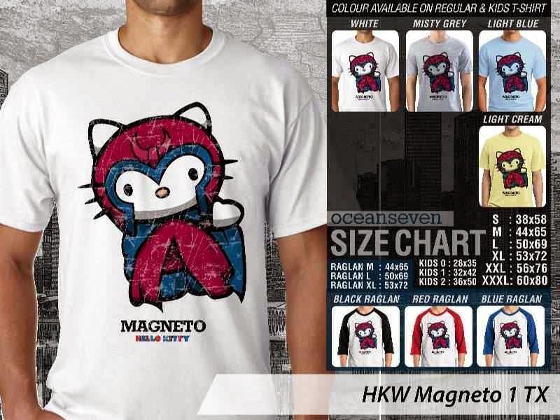 Jual Kaos kartun lucu Magneto 1 distro ocean seven