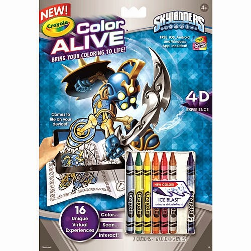 crayola color alive coloring pages - 3ders Crayola's Color Alive! bring kids coloring to life