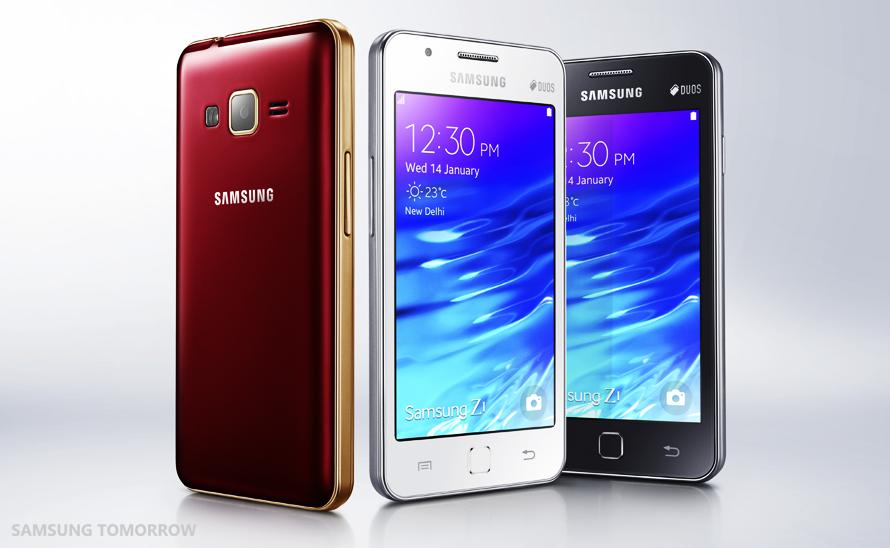 Samsung Z1 - Spesifikasi Lengkap dan harga