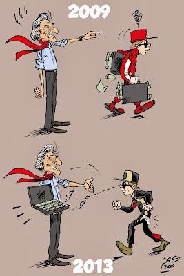 Кими Райкконен уходит с деньгами Ferrari и возвращается к ним - комикс Cirebox
