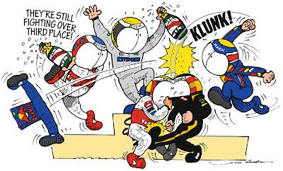 комикс Jim Bamber по Гран-при Китая 2012