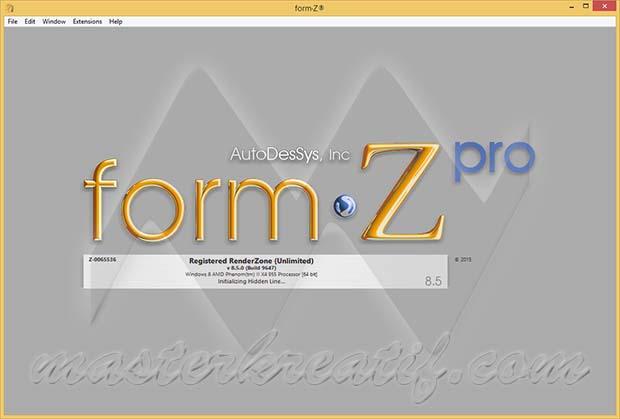 formZ 8.5 Pro
