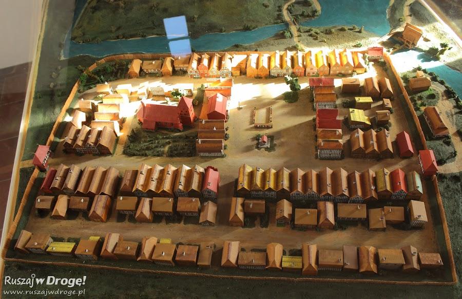 Makieta rynku w Bytowie