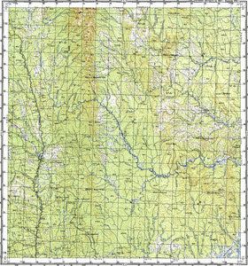 Map 100k--m54-010--(1988)