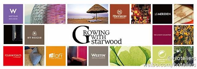 Starwood其下酒店包括Sheraton喜來登酒店、Westin威斯汀酒店、Le Méridien艾美酒店、W Hotel 、The Luxury Collection豪華精選酒店、St. Regis瑞吉酒店、Four Points by Sheraton福朋酒店 及Aloft。