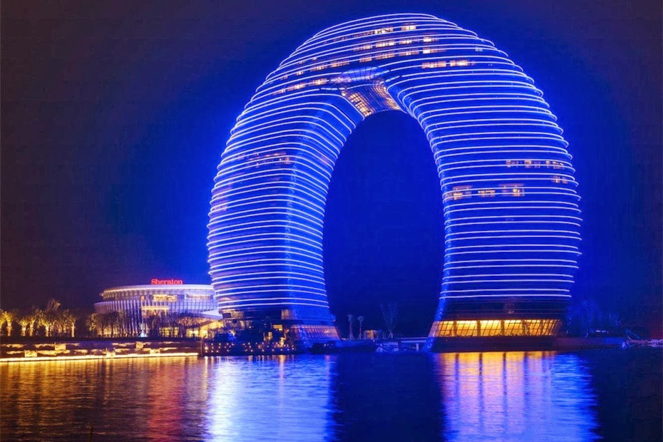 Huzhou, Cechiang, Cina: Sheraton Huzhou Hot Spring Resort by Mad Architects