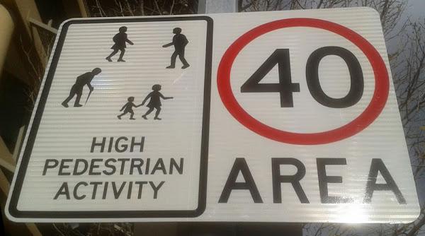 high pedestrians