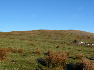 On the right is Bigert Mire and behind is the Birkett of Bigert and beyond is Hesk Fell.