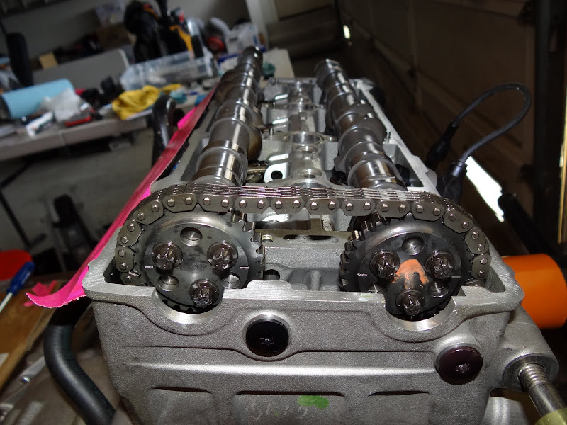 Reassembling Engine - How To Install  Time Camshafts