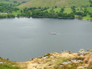 Ullswater and the Steamer.