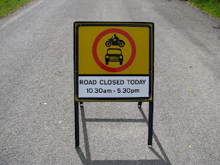 Cat & Fiddle Road closed today in Goyt Valley