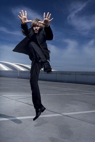фотосессия с прыжоком Ника Хайдфельда