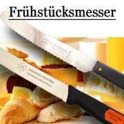 Frühstücksmesser Tischmesser von Marsvogel Solingen. Extra scharf durch Wellenschliff. Messer aus Solingen.