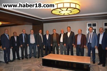 Ak Parti'li Belediye Başkanları Çerkeş'te Bir Araya Geldi