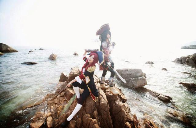 "Miyuko khoe trọn bộ cosplay Katarina ""cướp biển"" - Ảnh 24"