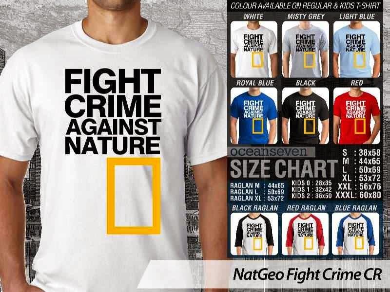 Kaos National Geographic NatGeo Fight Crime distro ocean seven