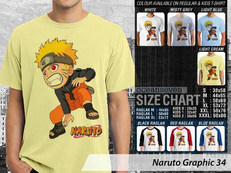 KAOS Naruto 34 Manga distro ocean seven