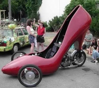 Motor Sepatu high Heels