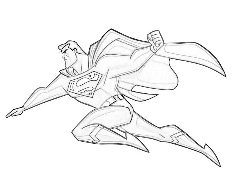 Superman Coloring Pages My Coloring Pages - superman printable coloring pages