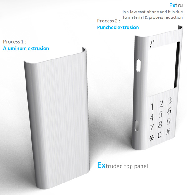 Extru is a low cost mobile phone by Sudhanwa Chavan Seen On www.coolpicturegallery.us