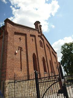 glowny budynek muzeum dawniej Kosciol Ewangelicki
