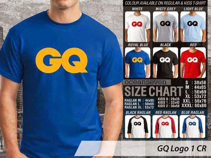 Kaos Magz GQ Logo 1 Majalah & Media distro ocean seven