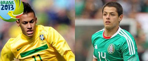 Brasil vs. México en Vivo - Copa Confederaciones 2013