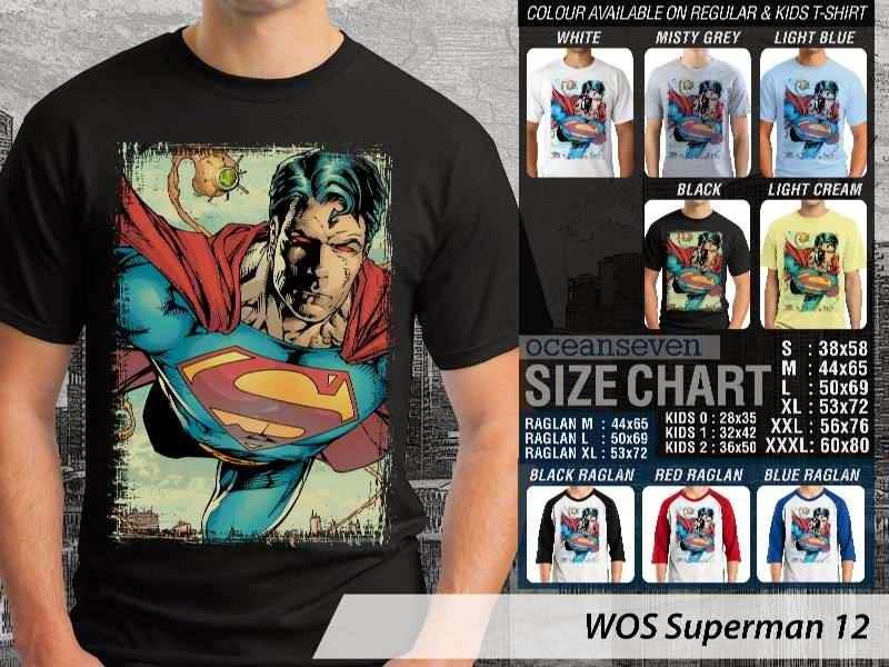 KAOS superman 12 Movie Series distro ocean seven