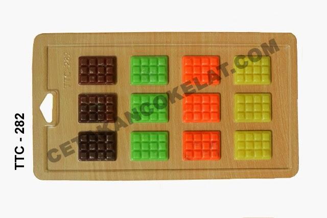 Cetakan Coklat cokelat bar TTC282 Chocobar