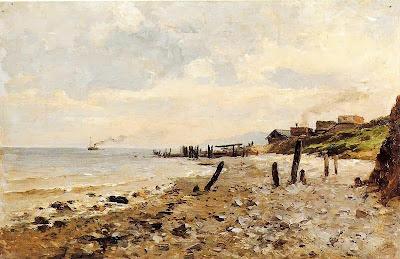 Carlos de Haes - Costa de Villerville