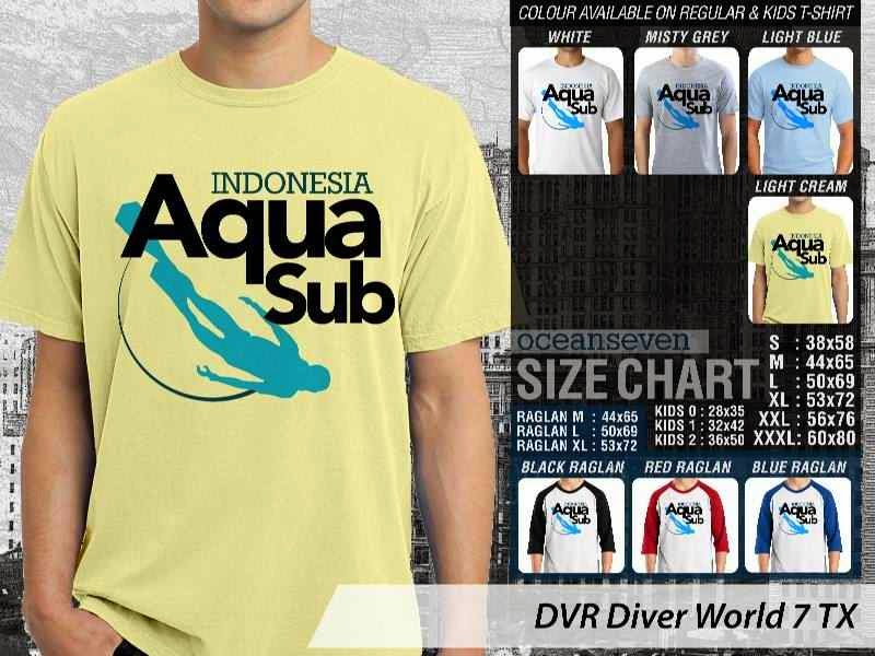 Kaos DVR Diver World 7 TX distro ocean seven