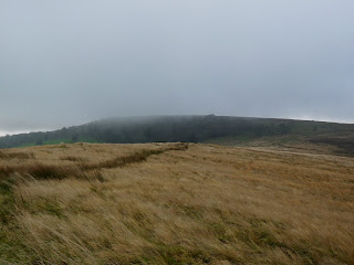 A very misty Burbage Edge