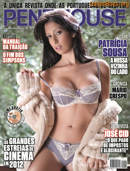 Penthouse Portugal Fevereiro 2012 - Patricia Sousa