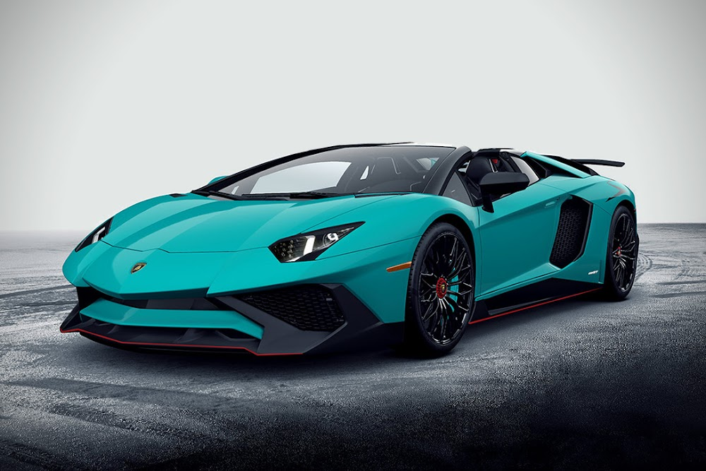 2017 Lamborghini Aventador LP750-4 Superveloce Roadster Car Review Specs