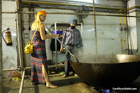 Bangla Sahib Gurudwara, New Delhi, langar kitchen