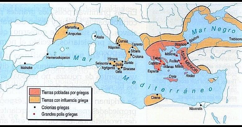 Resultado de imagen para segunda colonizacion griega