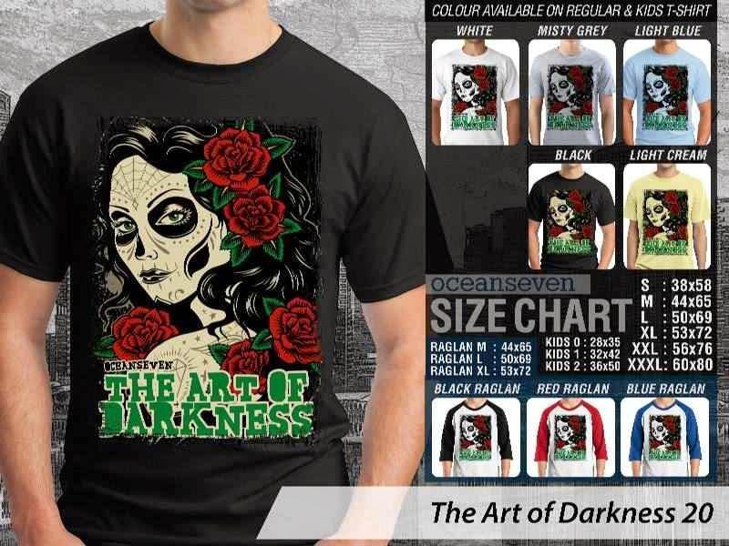 KAOS keren zombie The Art of Darkness 20 distro ocean seven