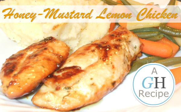 Honey-Mustard Lemon Chicken