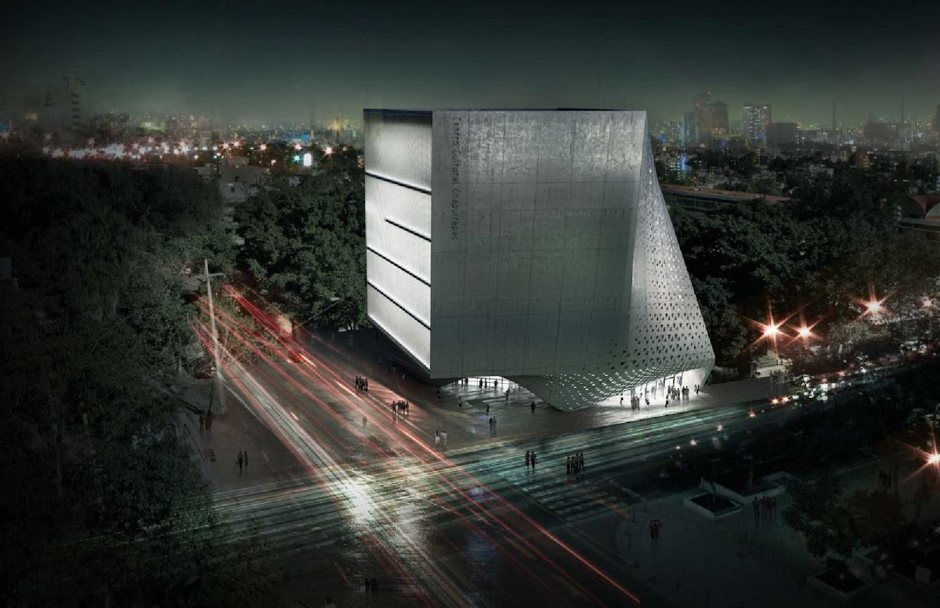 01 Cultural Center of Chapultepec Competition Entry