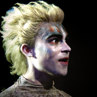 Phenomenal Tom Byam Shaw in the role of Ariel