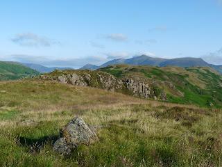 Skiddaw from Wren Crag.